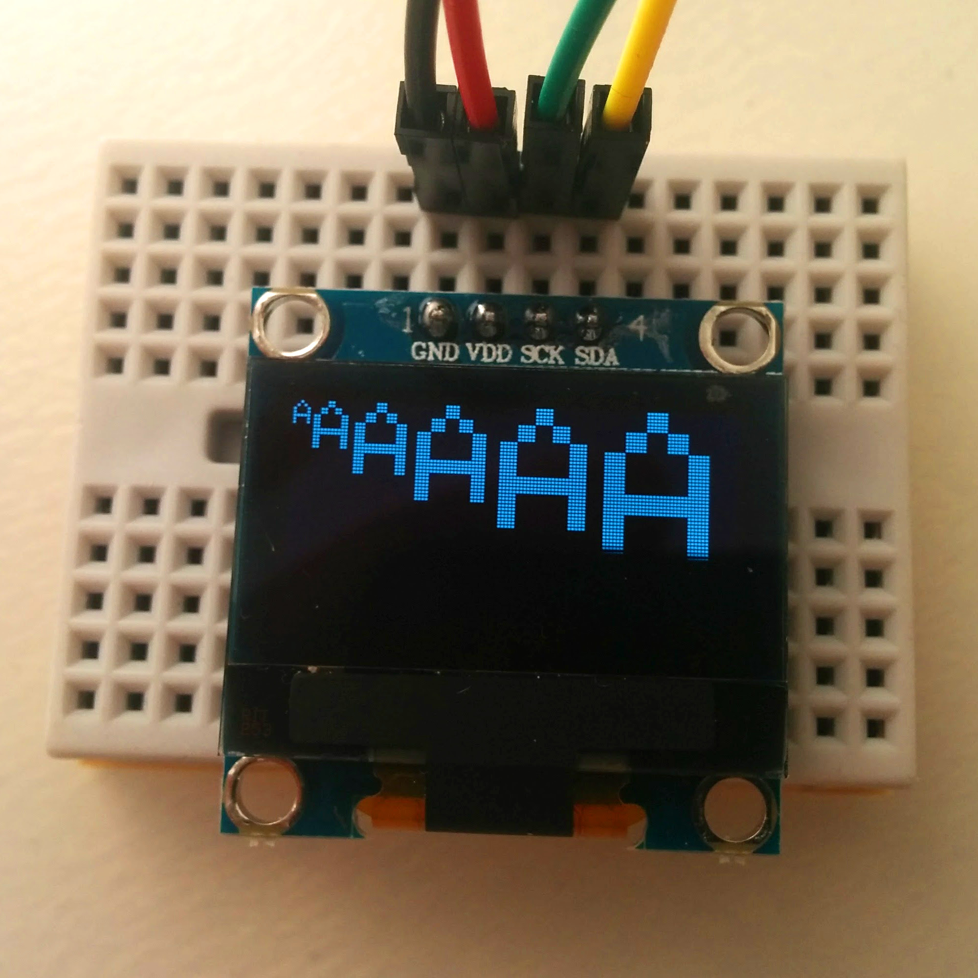 Picture of Display a Simple Text