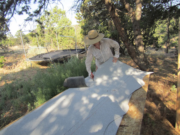 Picture of Cutting Shingles