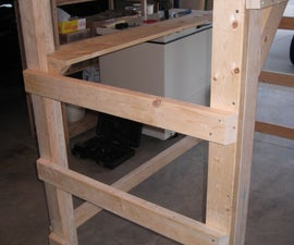 College Dorm Loft (accepts Twin XL frame) *updated*