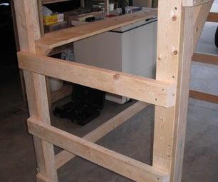 College Dorm Loft (accepts Twin XL Frame) *updated*