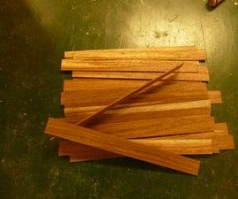 Cutting Thin Stock Wood