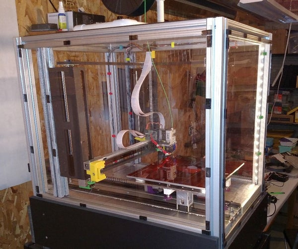 An Almost Reliable, High Precision, 3D Printer: Son of MegaMax (SoM)