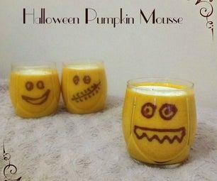 Halloween Pumpkin Mousse