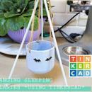 Hanging Sleeping Planter (Tinkercad)