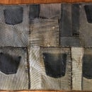 Denim Rug from Recycled Material