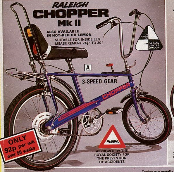 Picture of Why Inspired by a Raleigh Chopper?