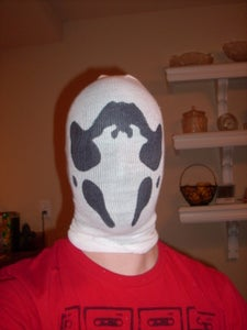 Try the Mask on and Trim