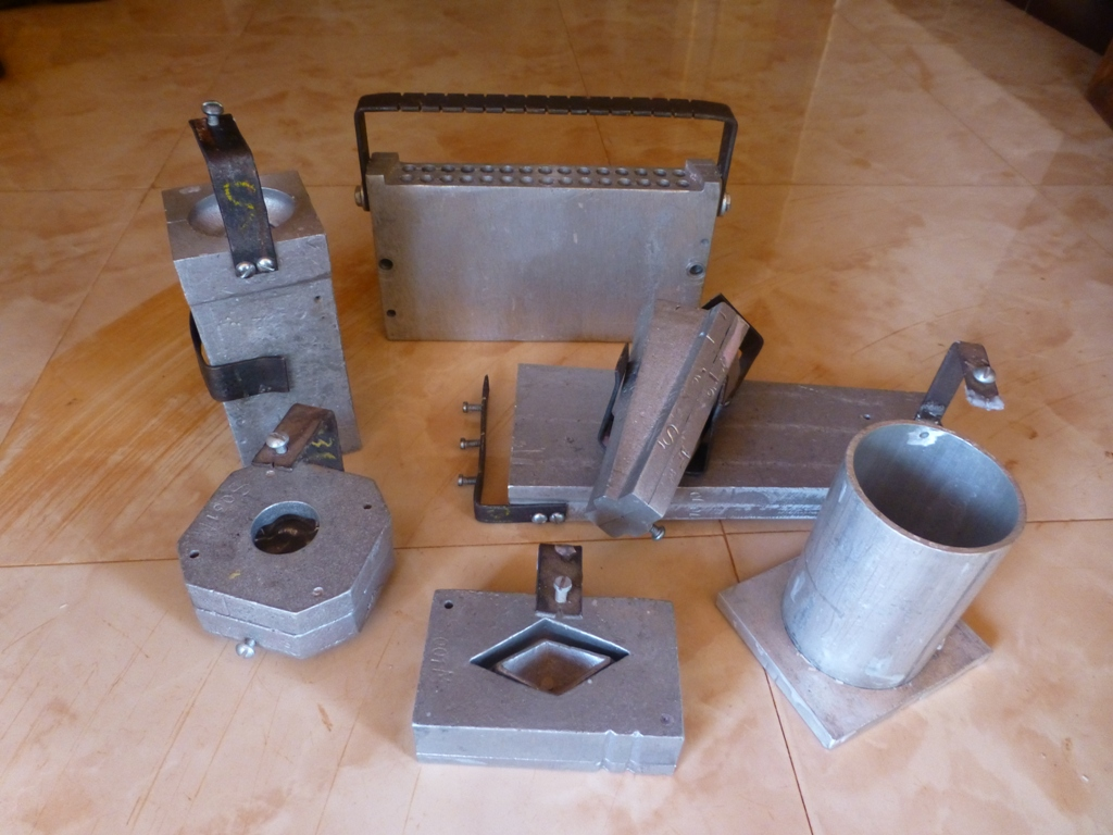 Picture of Metal Molds
