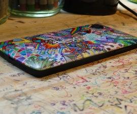 Sharpie Phone Backplate (Nexus 5)