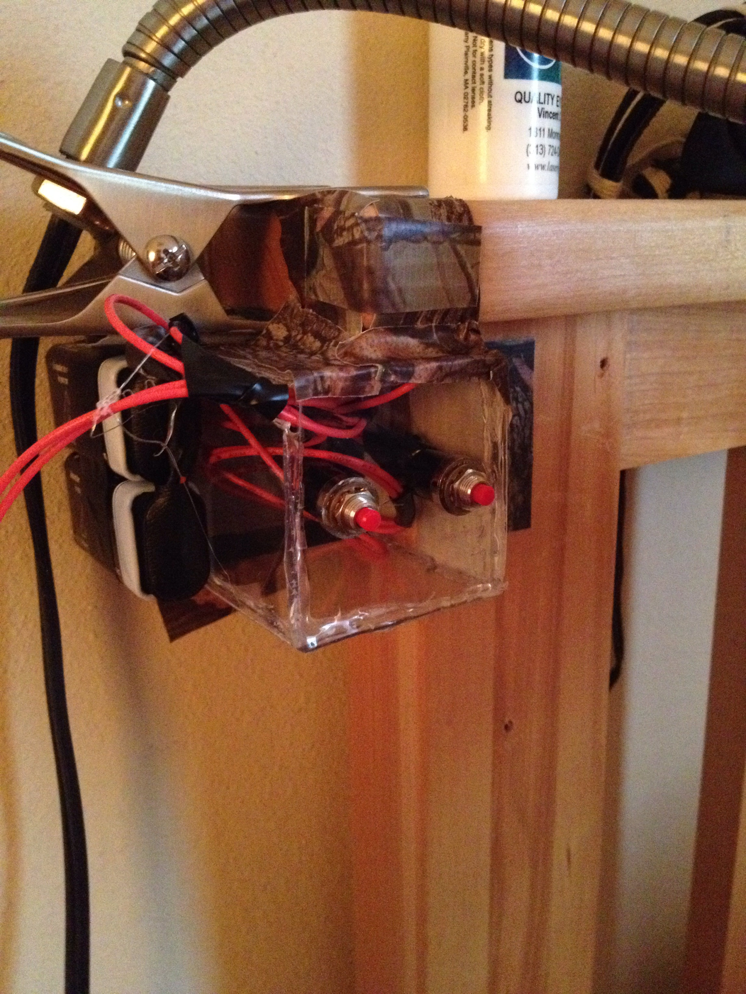 Picture of Control Your Bedroom Lights With a Simple DIY Push Switch