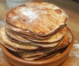 tortas de aceite - sweet spanish flatbreads