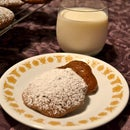 Alliteration Cookies (Chocolate Caramel Coffee Cake Cookies)