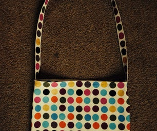 Quick and Easy Messenger Bag