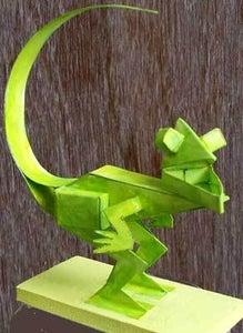 Paper Dinosaur.