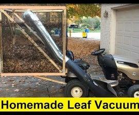 Homemade Leaf Vacuum for $50