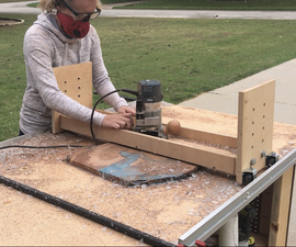 Router Flattening Sled
