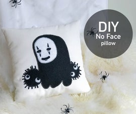 DIY Spirited Away No-Face Pillow
