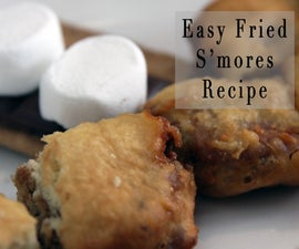 Easy Fried S'mores Recipe