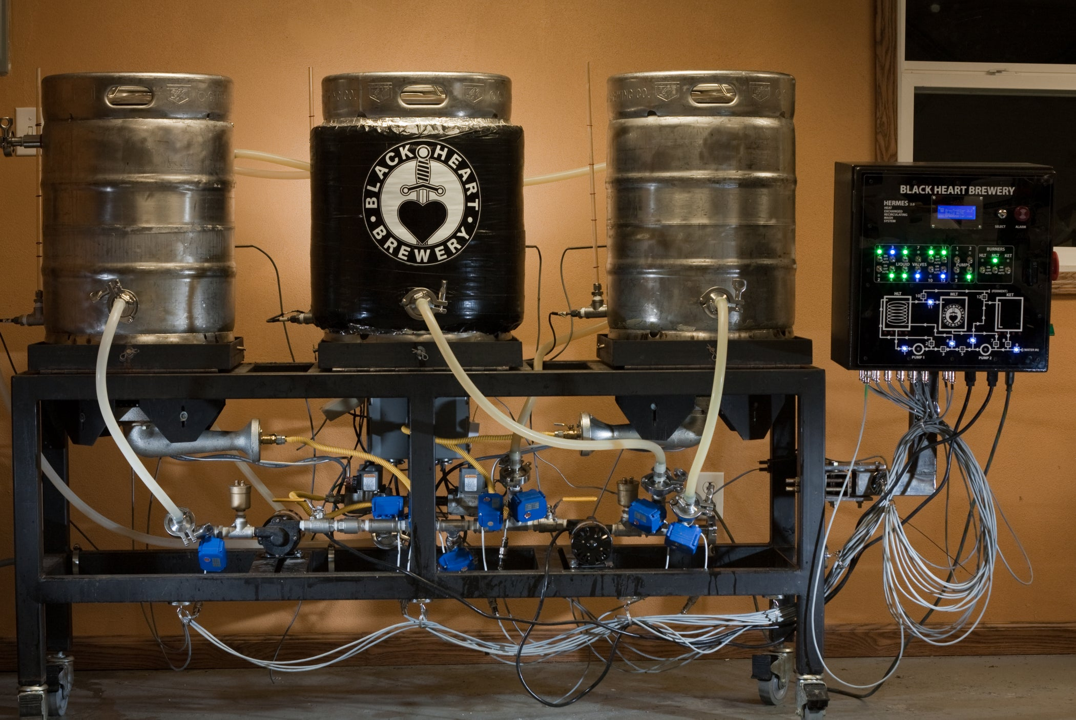 Building an Automated Micro Brewery - Jack Daniels Independence Project