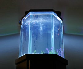 LED Aquarium Light Conversion
