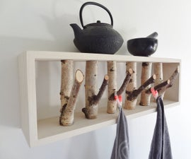 ​Make a branch shelf