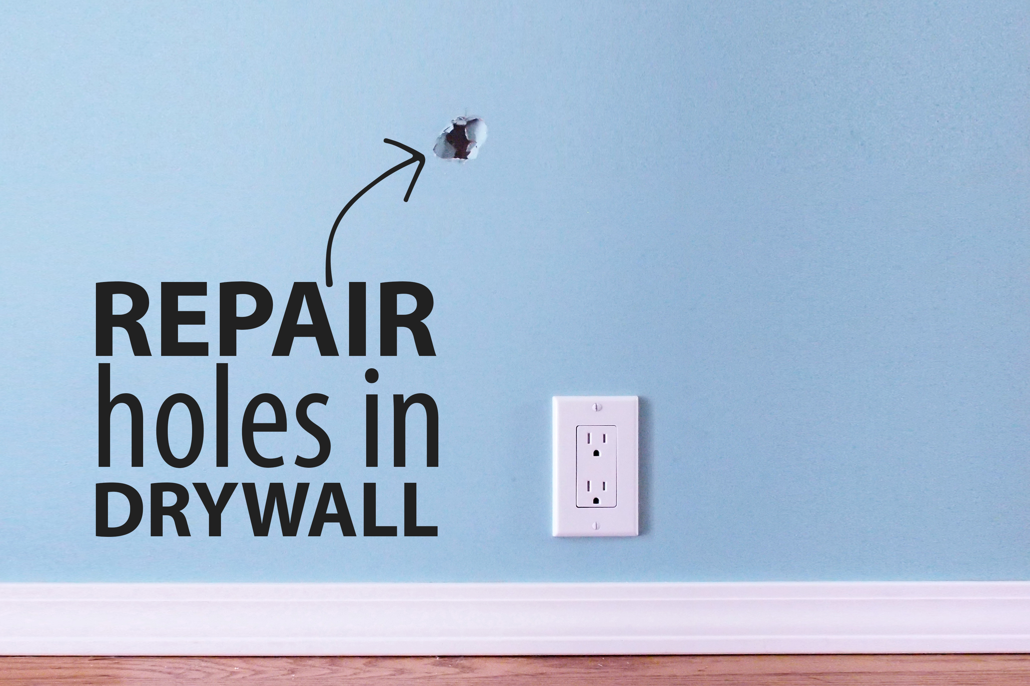Picture of Fix a Hole in Drywall