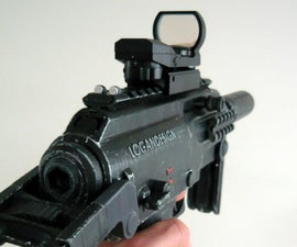 Printable Airsoft Submachine Gun