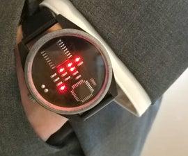Binary Wrist Watch