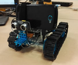 Yarcow (Yet Another Rover Controlled Over Wifi) - Makeblock, Arduino, Droidscript
