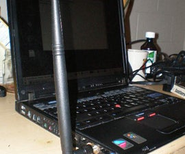 Yet another laptop wifi antenna mod