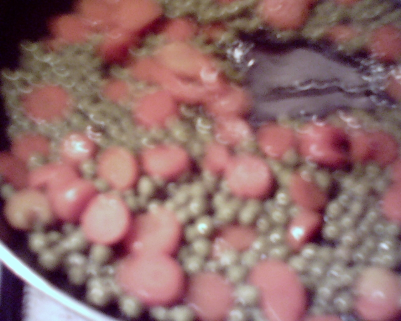 Picture of Peas Preparation.