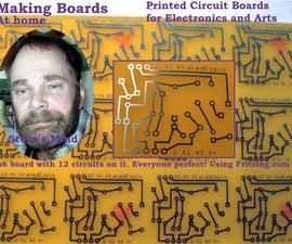 Making Board(PCBs)