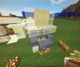 Minecraft Sand Door