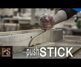 Make a Push Stick for Your Saw Table