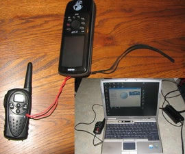 Crude Tracking Device from a GPS And Two-Way Radios