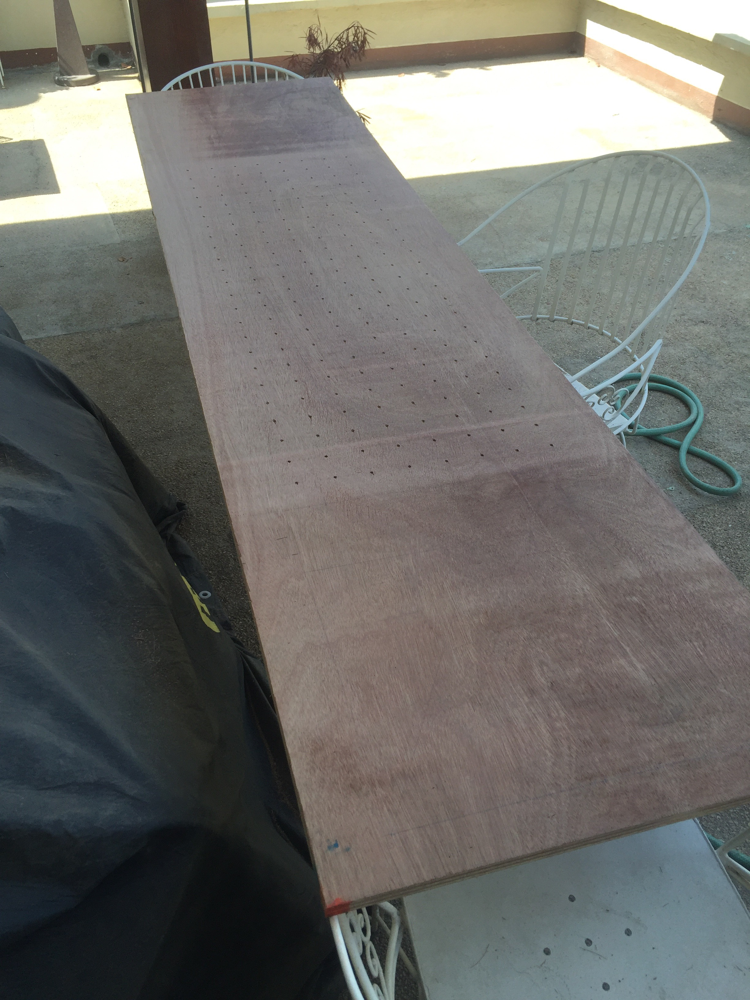 Picture of Cut 2ftx8ft Plywood