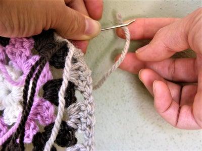 Weave in Yarn Ends