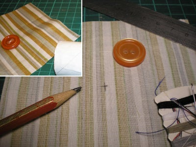 Sewing the Button / Cosiendo El Boton