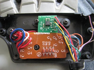Insert and Connect the Accelerometer