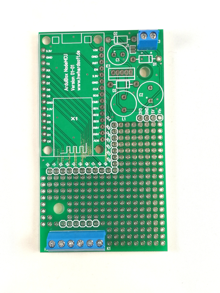 Picture of Place and Solder Terminal Blocks