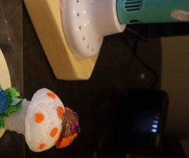 Simple Projects for a 3d Pen - Mushroom and Ladybug