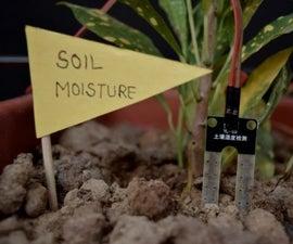 Self Irrigating Planter (with Moisture Sensor)