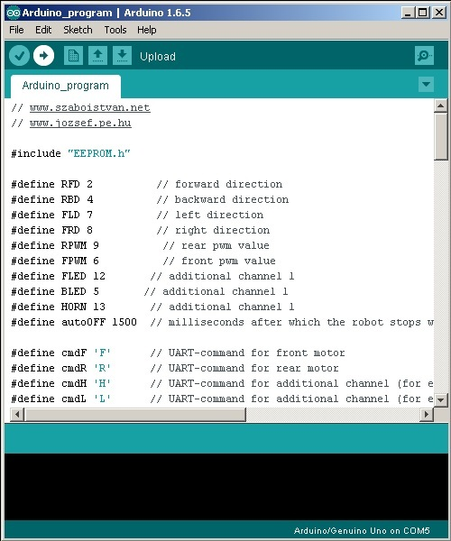 Picture of Upload Arduino Program and Android App