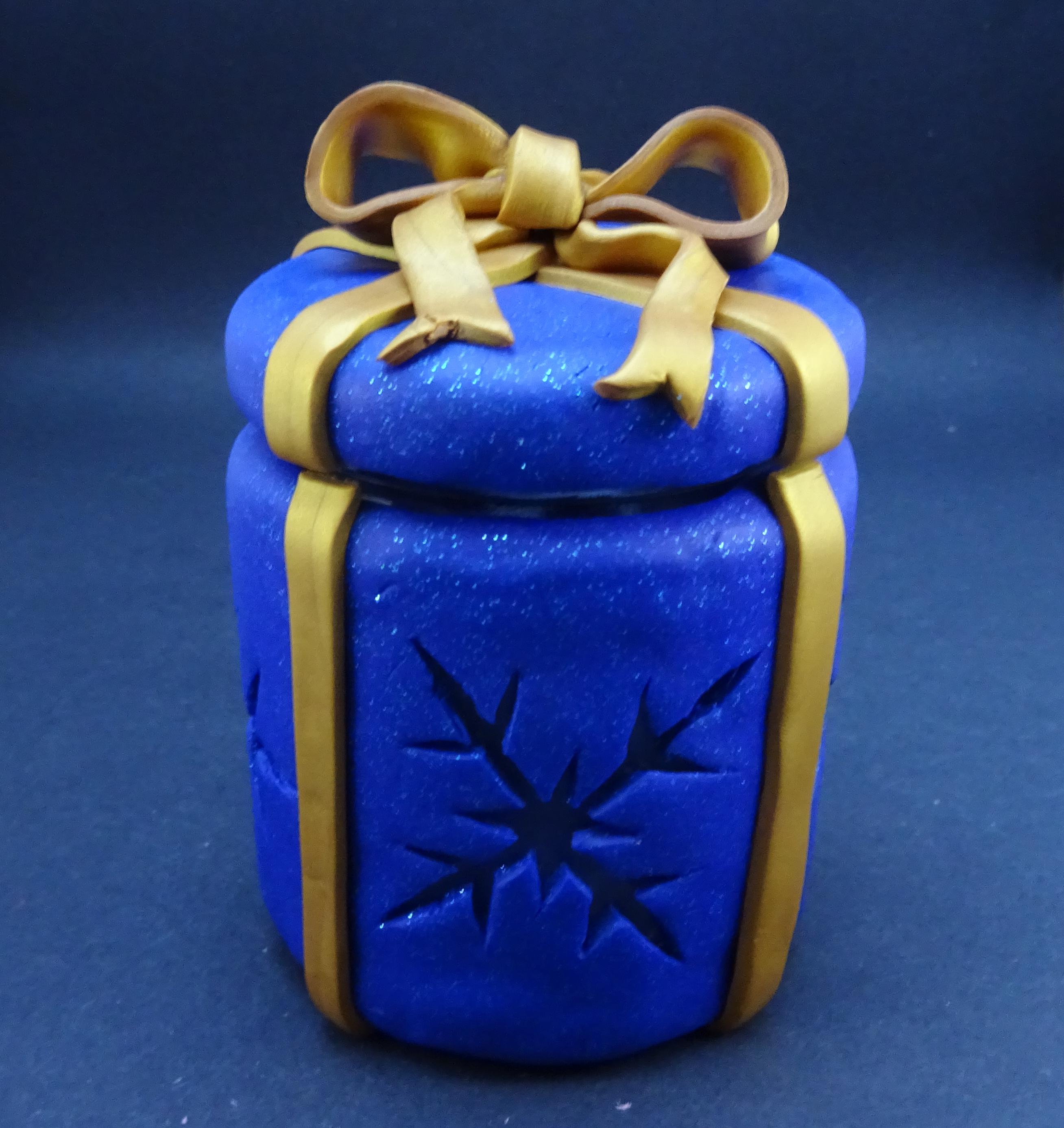 Picture of Polymer Clay Gift Jar/night Light