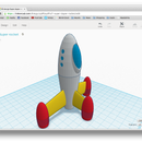 Beyond the Blocks: Super Duper Rocket with Tinkercad