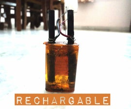 Make Your Own Rechargeable Battery