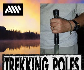 Collapsable Trekking Poles With a Plus