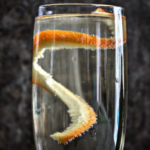 White Poinsettia Cocktail