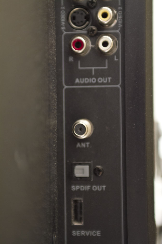 Picture of Connect Antenna to TV