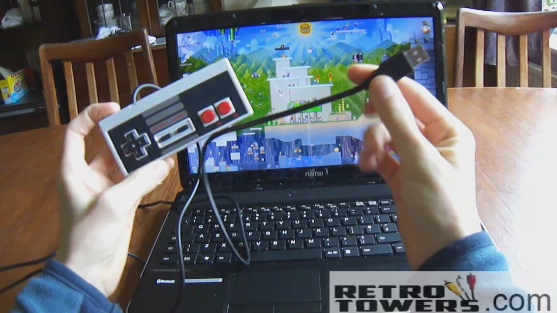 How to Set Up a USB NES Controller With NESTOPIA on the PC